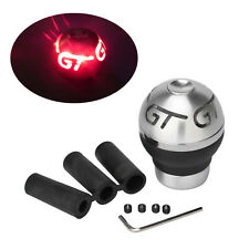 Car 5/6 Speed GT Red LED Light Manual Gear Shift Knob Shifter Lever With Battery