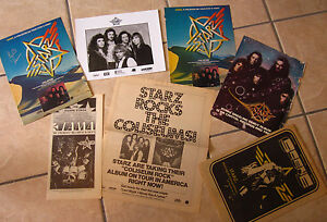 STARZ Richie Ranno autograph ad photos lot 1976 metal Cleveland Scene interview