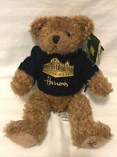 Harrods 12 Inch Rb Navy Silhouette Bear