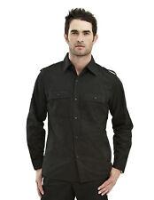 Tri-Mountain Men's Chest Pockets Slim Fit Roll Up Long Sleeve Dress Shirt. 920