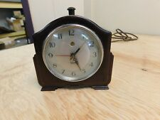 Art Deco Smith Sectric Electric Bakelite Alarm Clock Works