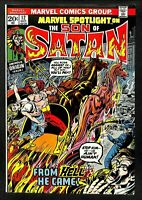 Marvel Spotlight #12, VF 8.0, 1st Appearance as Son of Satan; 1st Solo Story