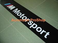 """53"""" M Motorsport Windshield Sunstrip Sunvisor Banner Decal Sticker BMW power gt3"""