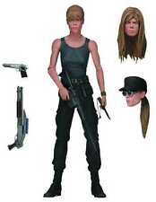 "SARAH CONNOR ULTIMATE TERMINATOR 2 JUDGEMENT DAY 7"" INCHES BY NECA #smay16-107"