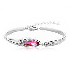 Rose Gem Swarovski Elements Bracelet
