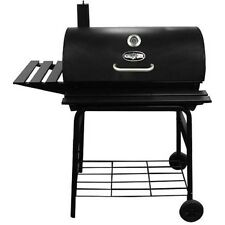 """Kingsford 30"""" Charcoal BBQ Barrel Grill 820 Sq"""" Cooking Area Outdoor Party Patio"""