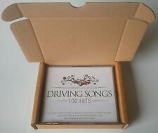 50 xPizza Style CD Boxes/Mailers. Holds 1 - 5 CD's = 3 x CD'S OR 5 x SINGLE CD'S