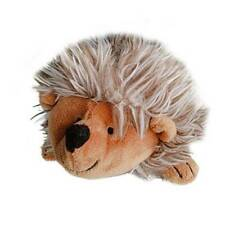1pc Hedgehog Shape Plush Squeaky Pet Dog Toy Puppy Cat Sound Chew Toys YI