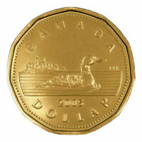 2005 Canadian $1 One Dollar Common Loonie Coin, 2005