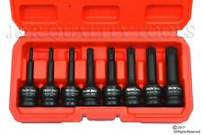 "8 PC 1/2"" DRIVE DR XZN TRIPLE SQUARE SPLINE X-LONG SOCKET WRENCH TOOL SET"