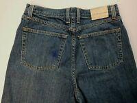 Blue Pronto Uomo Men's Straight Leg Jeans Size 32 X 32 Medium Wash Denim