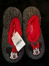 Girls Disney Minnie Mouse Slippers Snuggle Fit size S 3-4 BNWT
