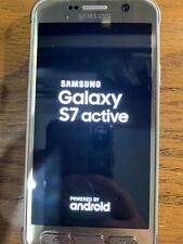 USED Samsung Galaxy S7 active Gold (AT&T) Smartphone WORKS GREAT!