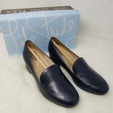 LifeStride Women's Trixie Loafer - Navy Blue size 8 W (C) Wide Width Loafers NEW