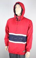 ABERCROMBIE 90s Winter Ski Coat ATech Red Colorblock Jacket Men S Fits Like M 🔥