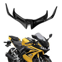 Motorcycle Front Panel Winglet Fairing For YAMAHA YZF-R15 V3.0 17-2019 Black UK