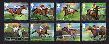 2017 RACEHORSE LEGENDS Stamp Set of Eight Mint  SG 3940 - 3947