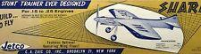 "Vintage SHARK 15 Jetco 36"" Profile Full Flaps UC Stunt PLAN for Model Airplane"