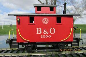 Thomas Industries Bobber Caboose 2 rail B & O