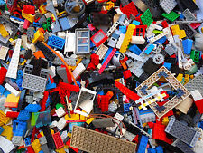 LEGO 1 Pound Parts & Pieces from Huge lot with 2 Free Minifigures