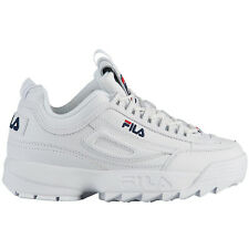Fila Disruptor II Synthetic Sports Low-Top Lace-Up Youth Trainers