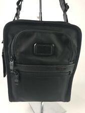 Tumi Alpha Bravo Organizer Travel Tote Crossbody Bag Black 22716D2