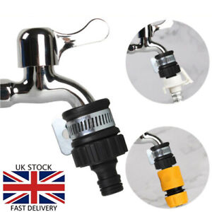 Universal To Garden Connector Hose Pipe Bathroom Kitchen Sink Water Tap Adapter