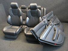 RECARO Lederausstattung Audi A6 S6 RS6 4B Sportsitze Ausstattung schwarz SOUL