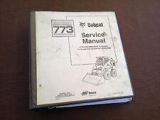 BOBCAT 773 BICS  SKIDSTEER LOADER SERVICE MANUAL  MELROE