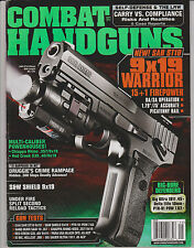 Combat Handguns 9-2012 Sar ST10 WL 1-AA S&W Shield 9X19 Sig Ultra 1911 .45