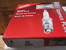 4 CHAMPION SPARK PLUGS RN9YC # 415