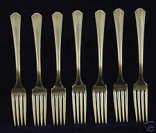 SL & GH Rogers Thor Silverplate Forks 7 pc.