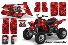 ATV Graphics Kit Quad Decal Sticker Wrap For Yamaha Banshee 350 87-05 BONES RED