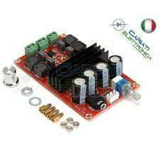 Amplificatore audio TPA3116 12V 24V potenza massima 100W
