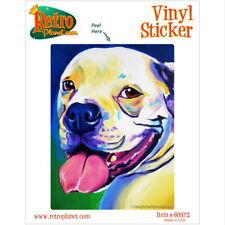Luke Skywalker American Bulldog Dog Vinyl Sticker Laptop Bumper Pop Art Decal