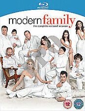 Modern Family Complete Series 2 Blu Ray All Episodes Second Season UK Release R2