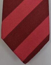 """Kiton Napoli Mens 7 Fold Handmade Wool Stripe Tie NEW 59"""" X 3.5"""" SKU B32/7 $350"""