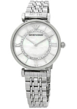 EMPORIO ARMANI Mother of Pearl Dial Ladies Watch AR1908