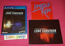 Lone Survivor Director's Cut Sony PS Vita Limited Run #31 Region 3600 EX