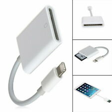8Pin to SD Card Camera Reader Adapter for iPhone XR XS max iPad Pro Mini