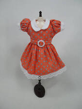Blythe Outfit Handcrafted polka dots dress basaak doll # 12-43