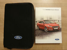 Ford Mondeo Owners Handbook/Manual and Wallet 14-17