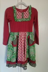 Mustard Pie Dress ~ Size 12~VGUC