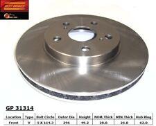Disc Brake Rotor fits 2002-2009 Toyota Camry Solara Avalon  BEST BRAKES USA
