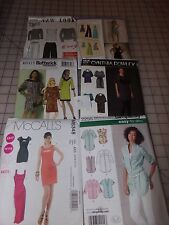 SIMPLICITY , MCCALLS  , BUTTERICK ..LOT OF 6  WOMEN PATTERNS.. NEW...#2