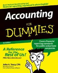 Accounting For Dummies (For Dummies (Lifestyles Paperback)) - VERY GOOD