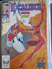 EXCALIBUR N°20 1990 ed. Marvel Comics  [SA3]