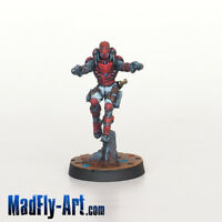 Perseus, Rogue Myrmidon MASTERS6 Infinity painted MadFly-Art