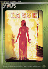 CARRIE (DVD, Decades Collection) NEW. Includes 70s music/LIFE booklet.