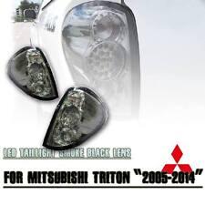 MITSUBISHI L200 TRITON ML MN 2005-14 TAIL REAR LED LIGHT LAMP SMOKE BLACK LENS